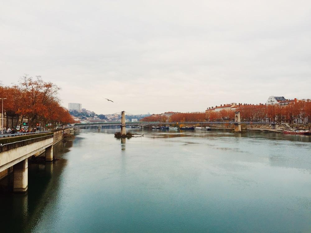 The Saône.