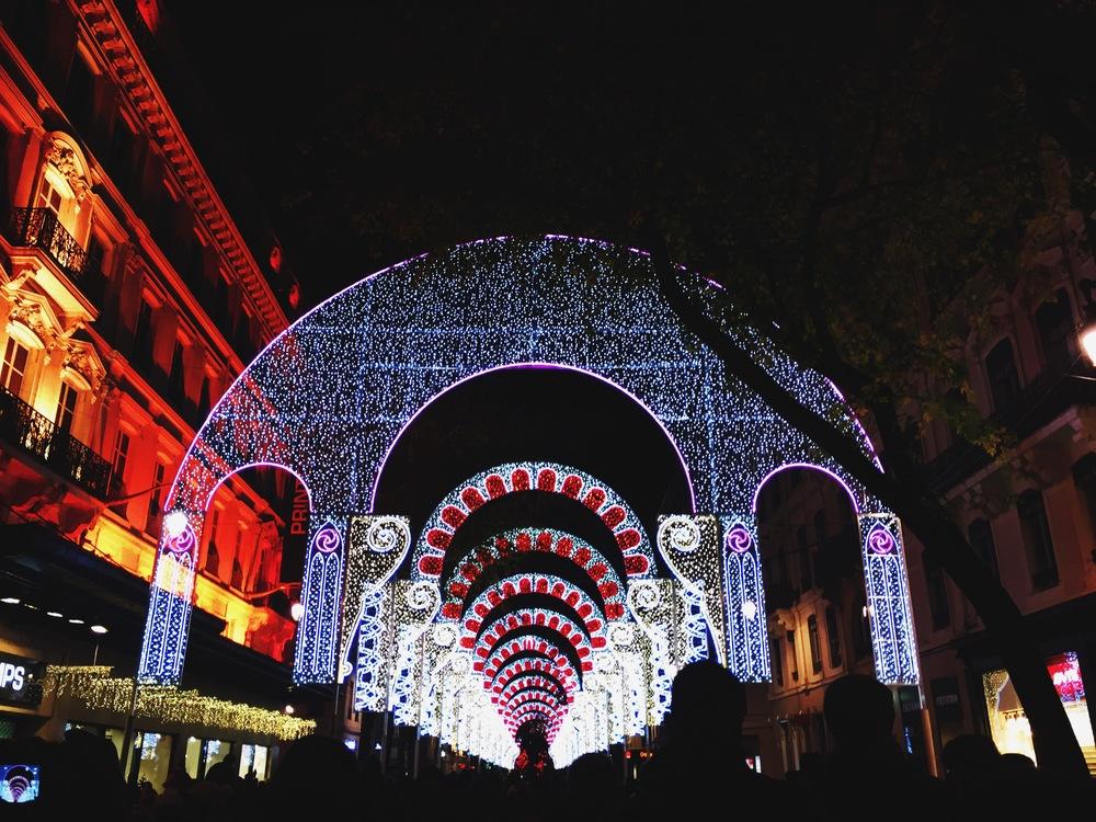 Fête des Lumières in Lyon.