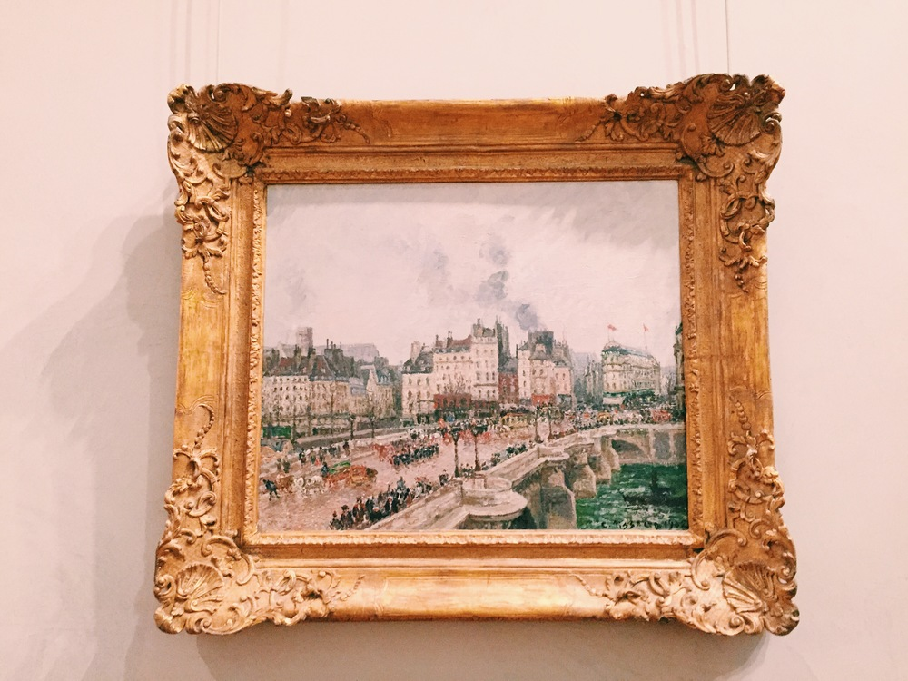 Camille Pissarro at theMusée des Beaux - Arts de Lyon.