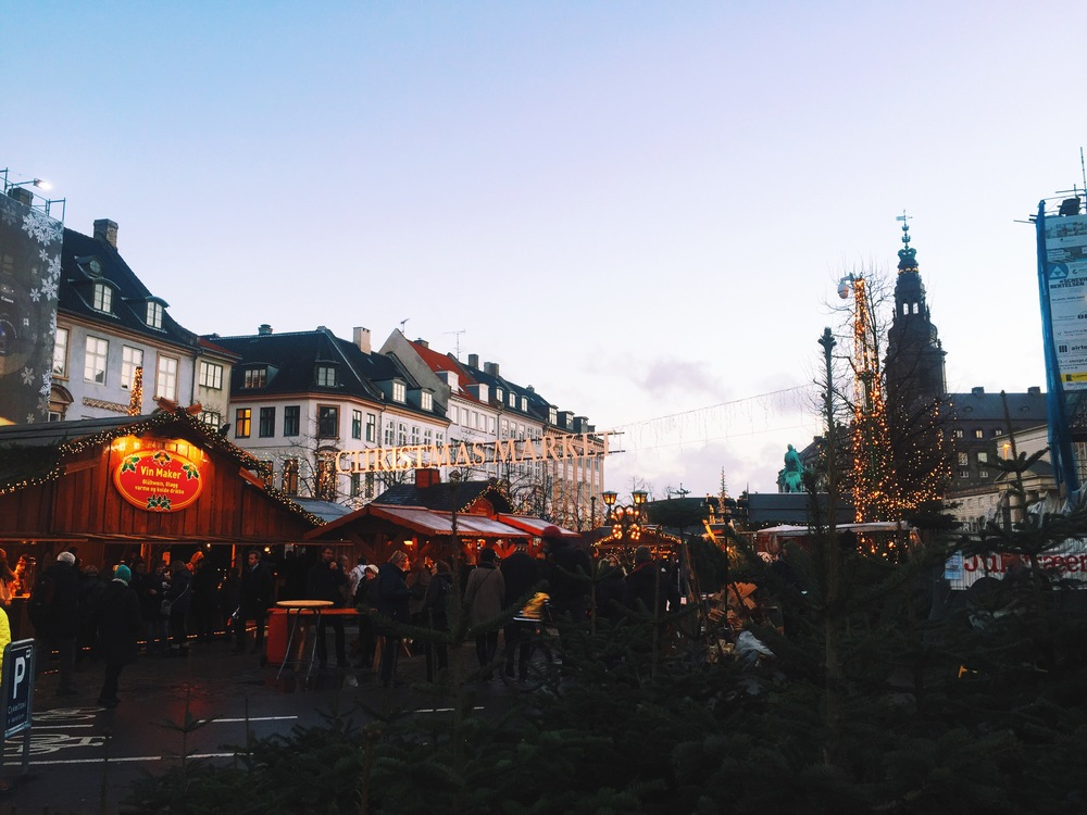 Christmas Markets in Amagertorv.
