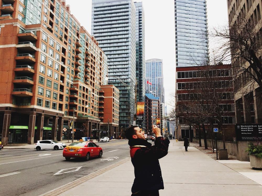 Urban exploring.
