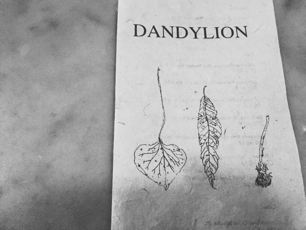 Dinner at  Dandylion .