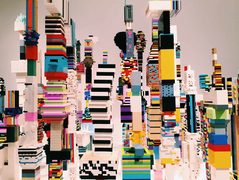 Douglas Coupland's  everywhere is anywhere is anything is everything .