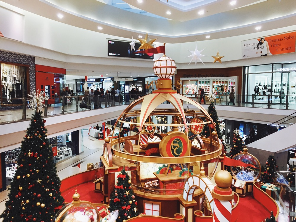 Christmas at Scarborough Town Centre.