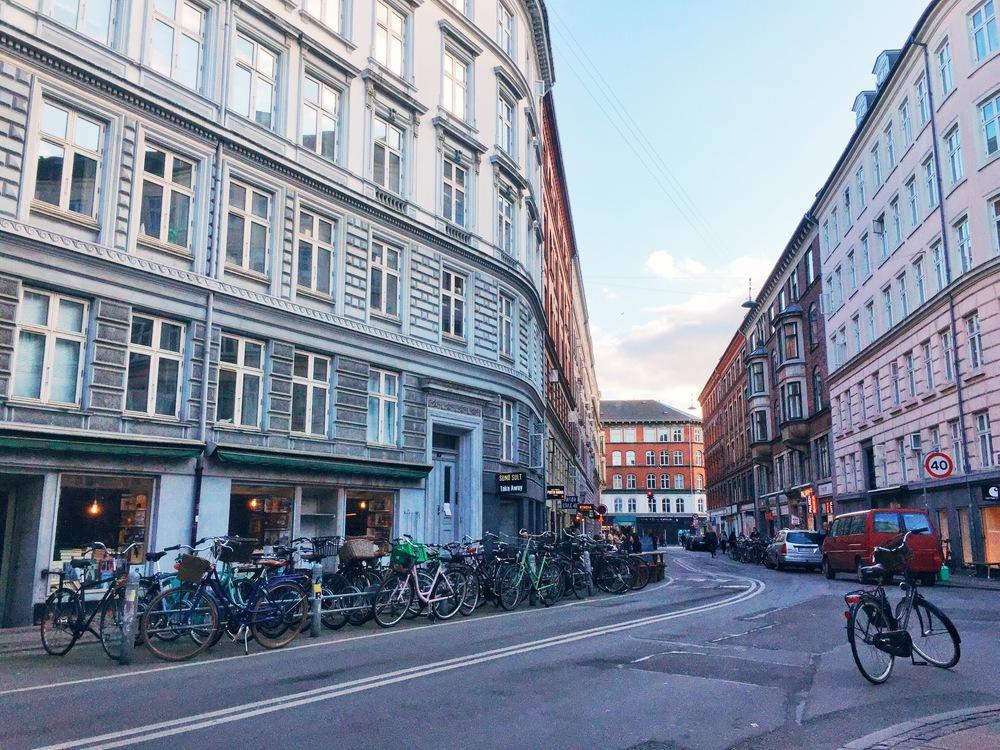 Elmegade, my favourite street in Copenhagen.