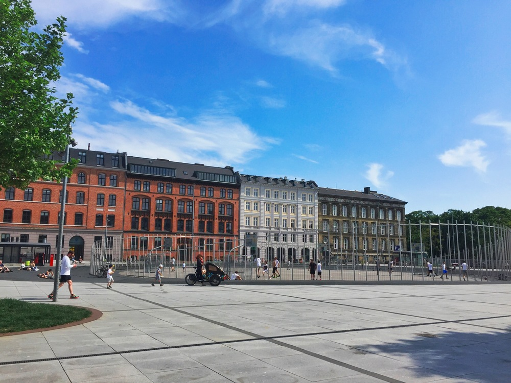 The new Israel Plads.