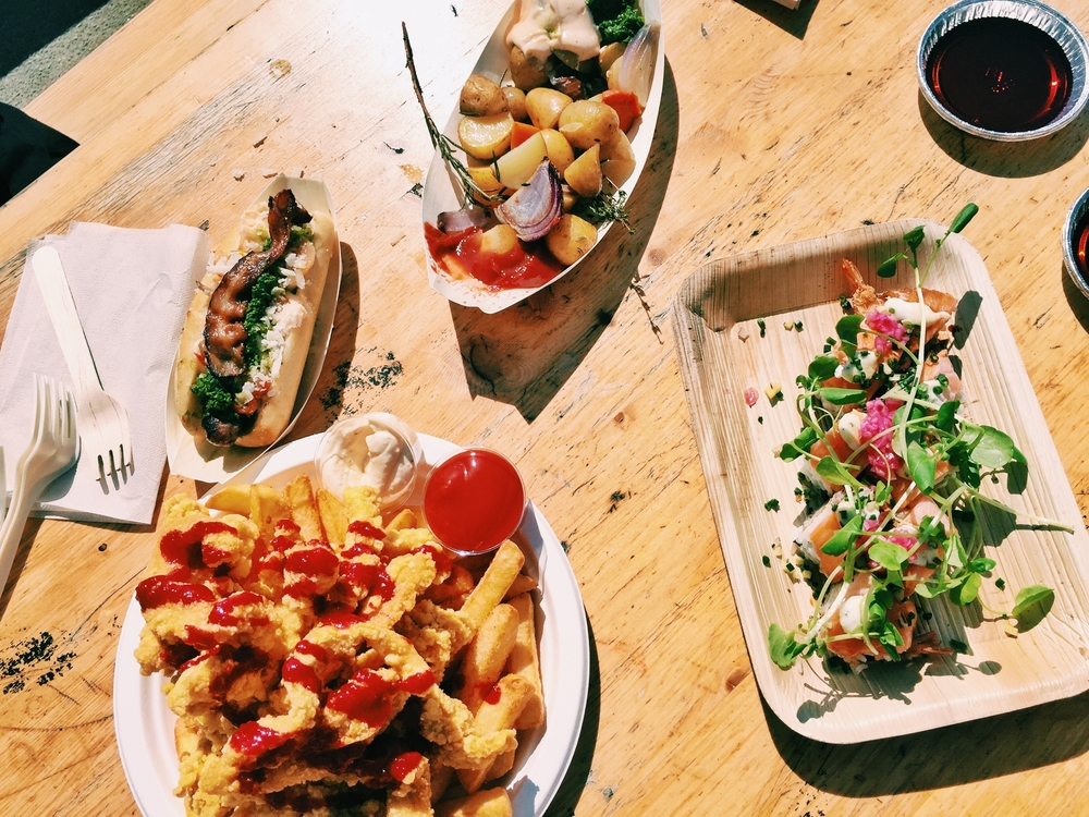 Our eats from  Copenhagen Street Food .