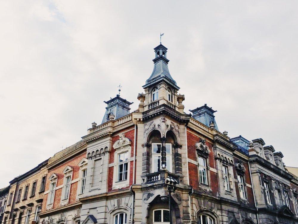 Kraków is a city rich in beautiful, historic buildings.