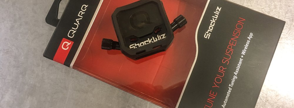 QUARQ SHOCKWIZ    Type:  Suspension Tuning Tool  | Intended Use:  Mount this little devise to your airshock and pair it via bluetooth to your smartphone to optimize your suspension. Learn more  here .  | Cost:  $20/day  | Reserve your rental:  Call (307) 332-2926 or stop in