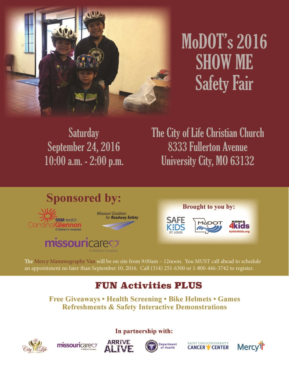SHOW ME Safety Fair
