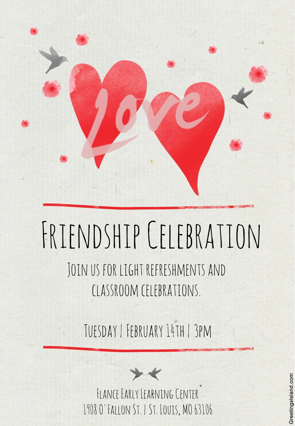 Friendship Celebration