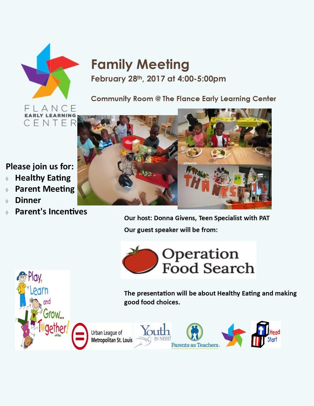 Family Meeting February 2017