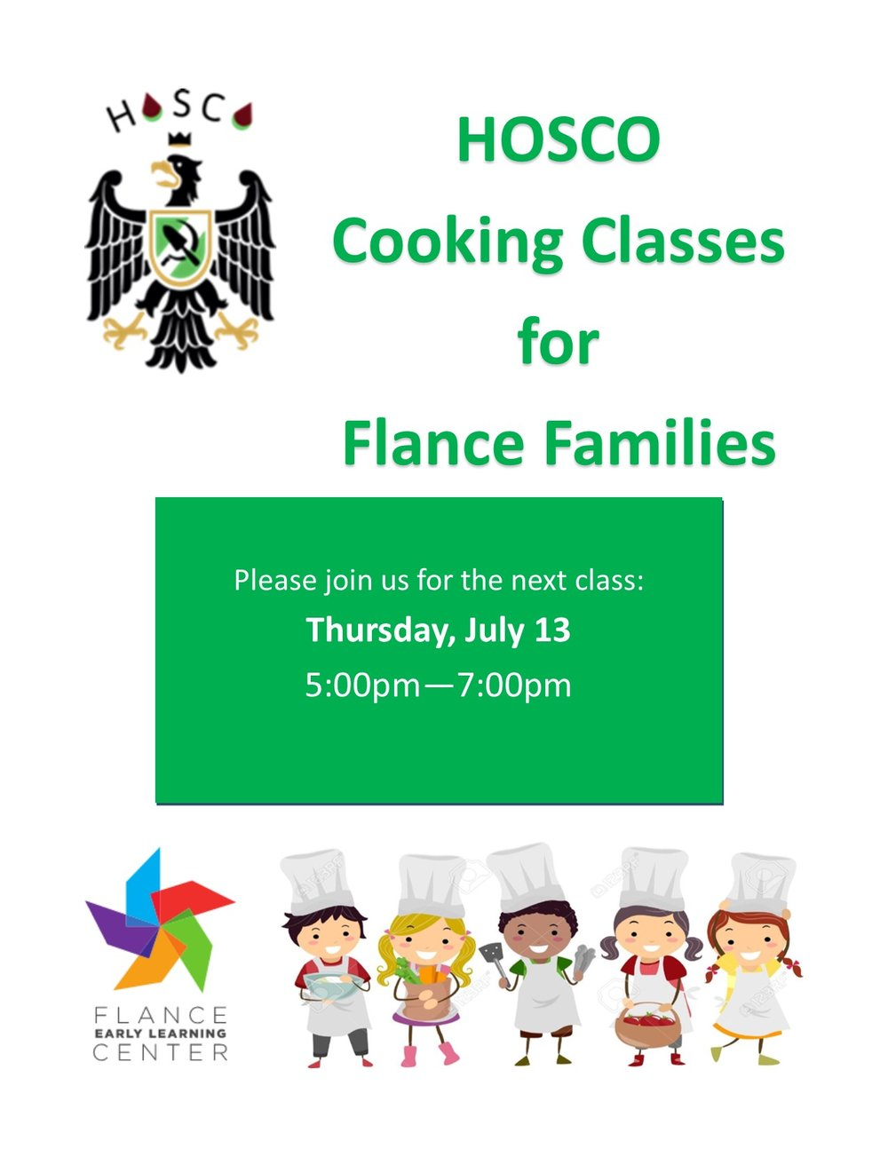 HOSCO Cooking Class july 2017