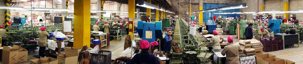 2013: Departamento montaje, Planta de Produccion