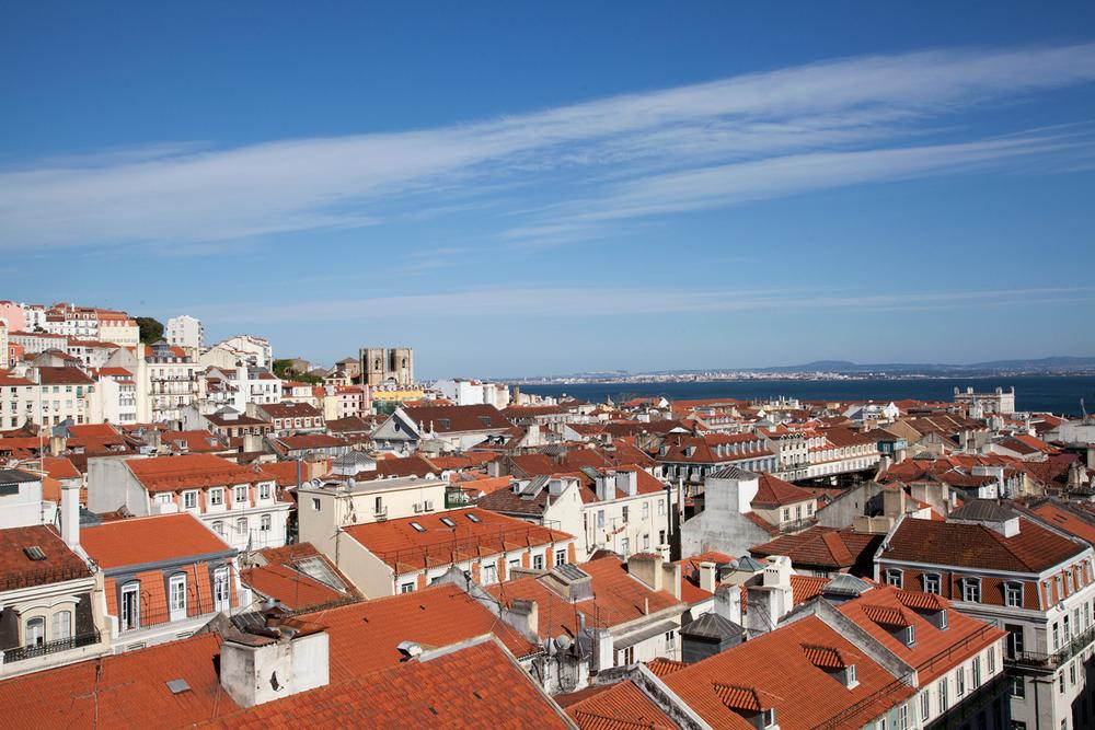 View from São Pedro de Alcântara, Lisbon