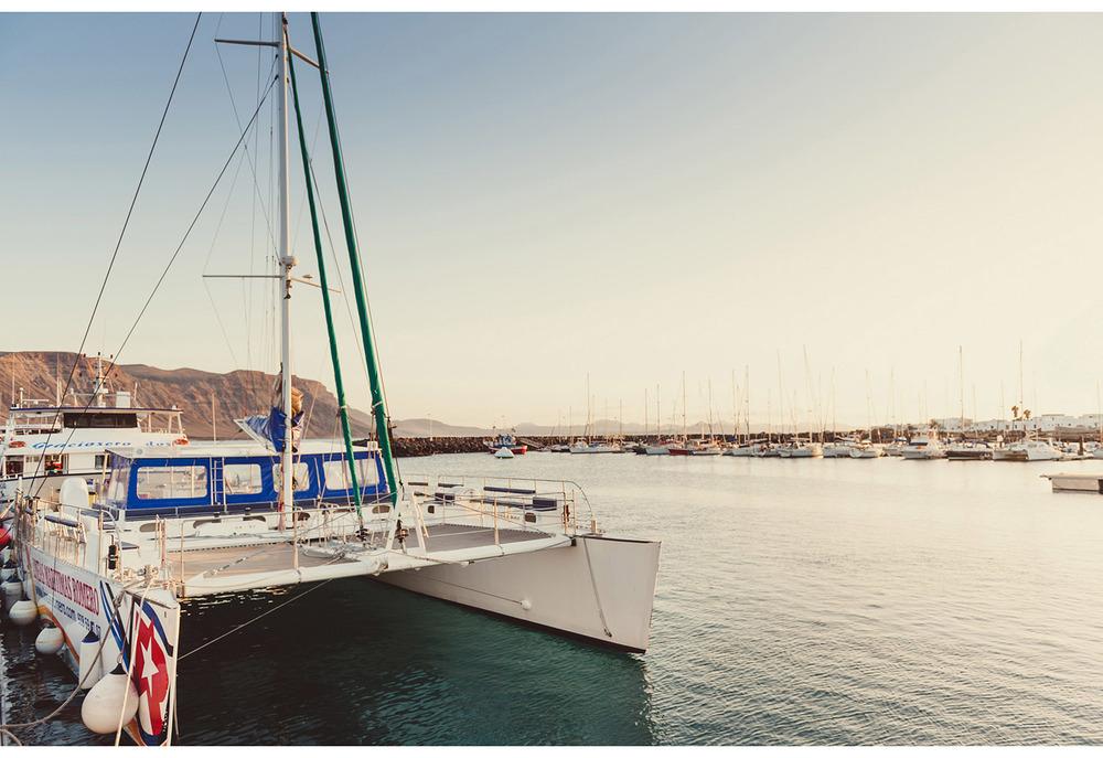catamarán La Graciosa
