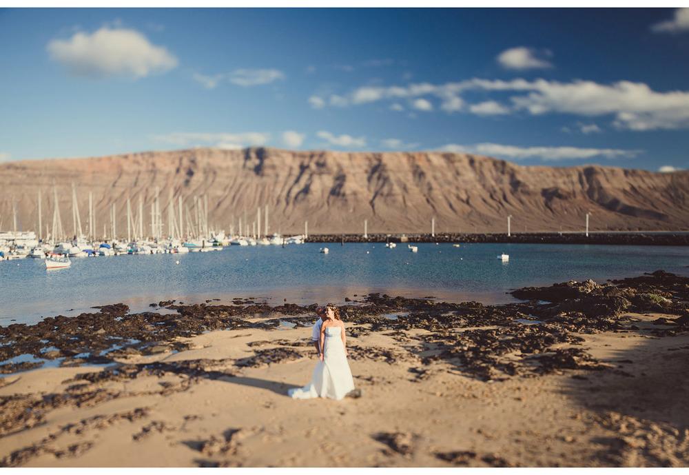 Fotografía boda La Graciosa