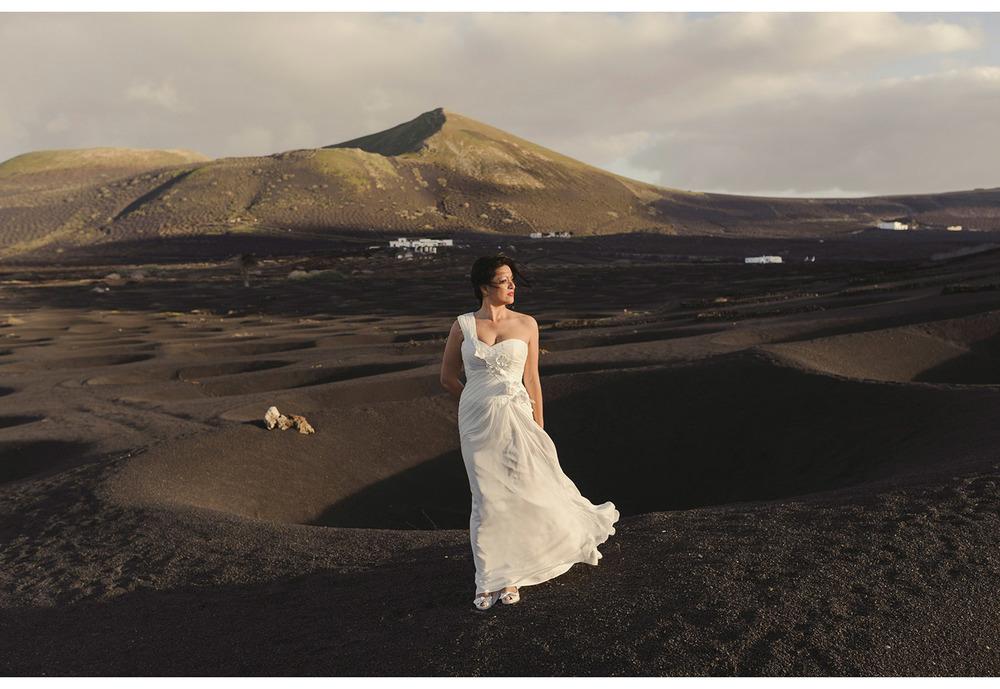 Vestido novia boda Lanzarote