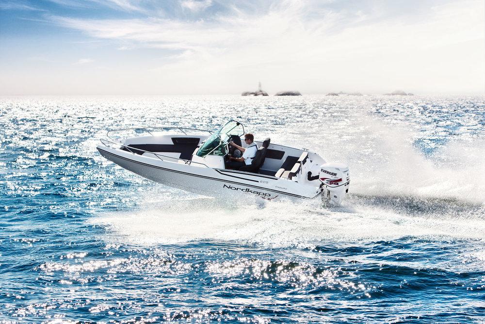 For to års siden lanserte Nordkapp modellen Enduro 605. Noen uker etter lansering ble den «Årets båt 2013» på «Sjøen for alle». I fjor ble den nominert til European Powerboat of the Year 2014! Resultatet var at modellen fra Nordkapp danket ut alt det verdenseliten stilte opp med fra øverste hylle.