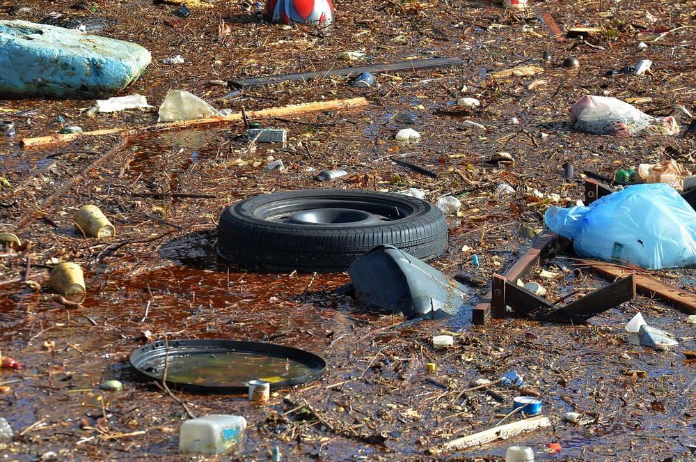 Marin søppel