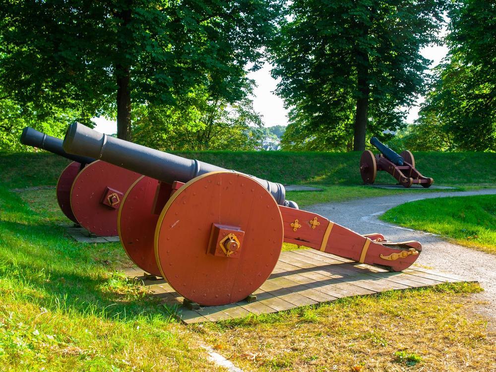 Kanonene i Gamlebyen