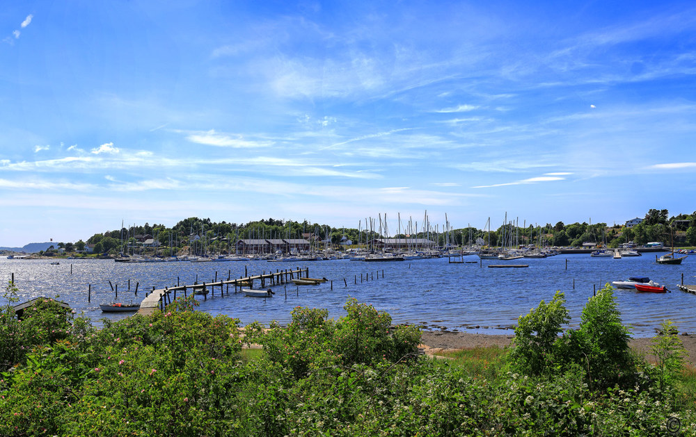 Skjæløy Slipp har en fantastisk beliggenhet på innsiden av vakre Skjæløy.
