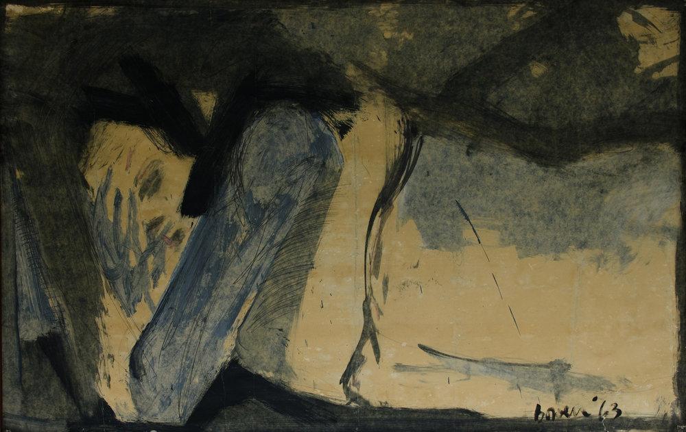 Michael Bowen, The Day After, 1963. Tilhører Universitetet i Agder