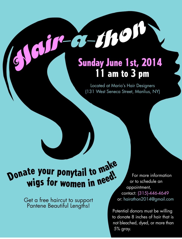 Join Liz DiGennaro\'s Hairathon — RamPage
