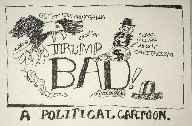 Sarah's latest cartoon.