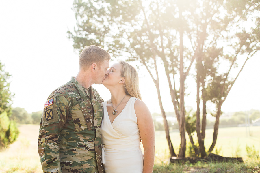 Army military couples photo session before a deployment - allyourheartphotography.com - Killeen, Harker Heights, and Fort Hood Family Photographer