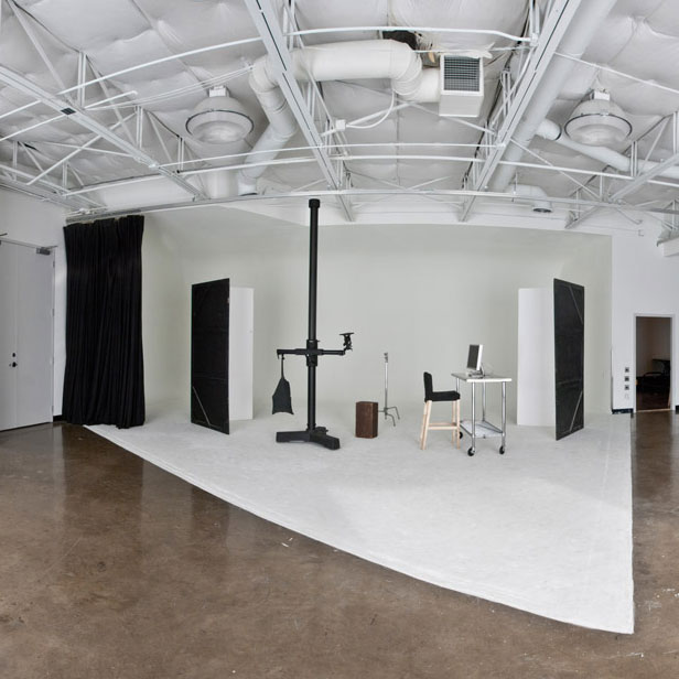 Studio A - Complete with cyc wall and two large windows for natural lighting, Studio A can adapt to almost any shoot.