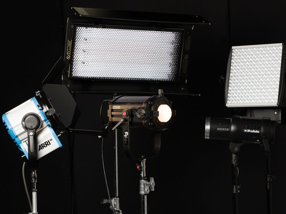 Continuous Lighting Rentals - At Hoeber Productions, you can rent continuous photo lighting at great rates to ensure high-quality photos. Explore what's in stock and rent yours today.