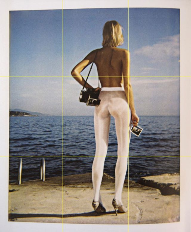 Wolford, Monte Carlo, 1995  Helmut Newton Polaroids  Taschen, 2017  #polaroids #montecarlo #taschen #helmutnewton #wolford #90s #film