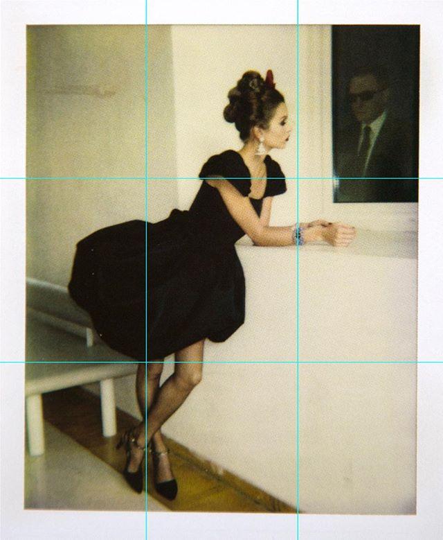 Yves St. Laurent, Paris, 1996, P. 186  Helmut Newton  Taschen, 2017  #polaroid #helmutnewton #taschen #yvesstlaurent #paris