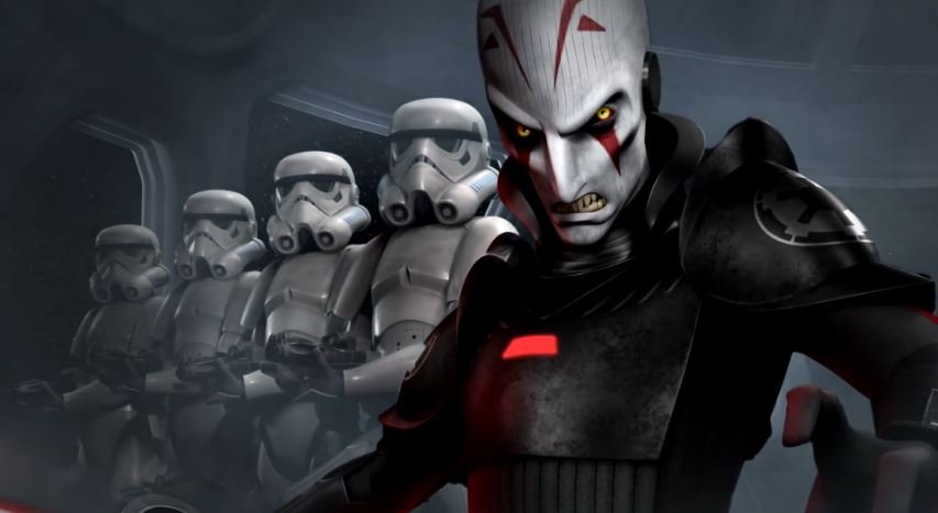 The Inquisitor from Star Wars: Rebels