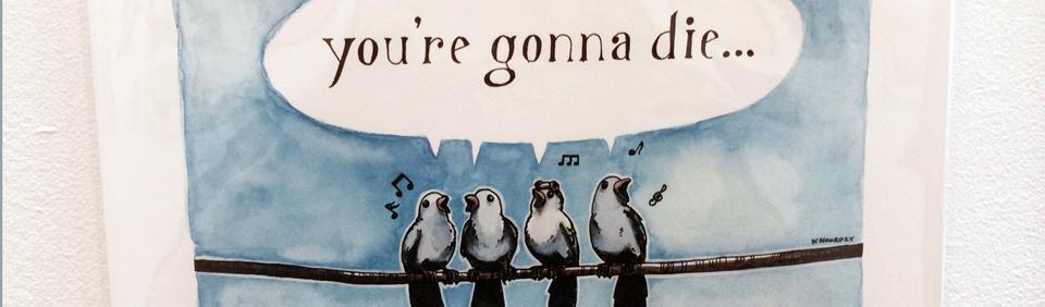 "(Keith Noordzy - The Birds Are Singing""-@KeithNoordzy) By: Jenny Robinson"