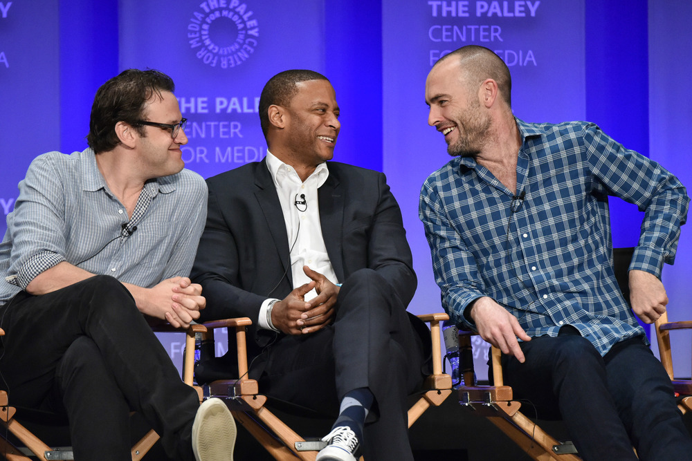 Andrew Kreisberg, David Ramsey, & Paul Blackthorne