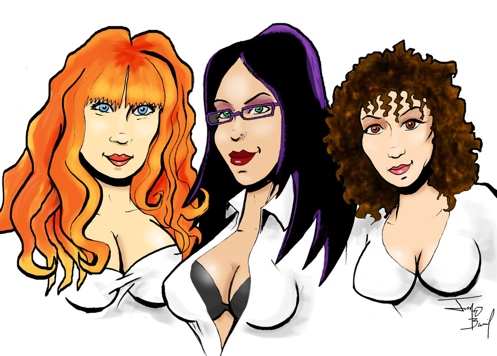 Joanna, Andrea, & Kayla