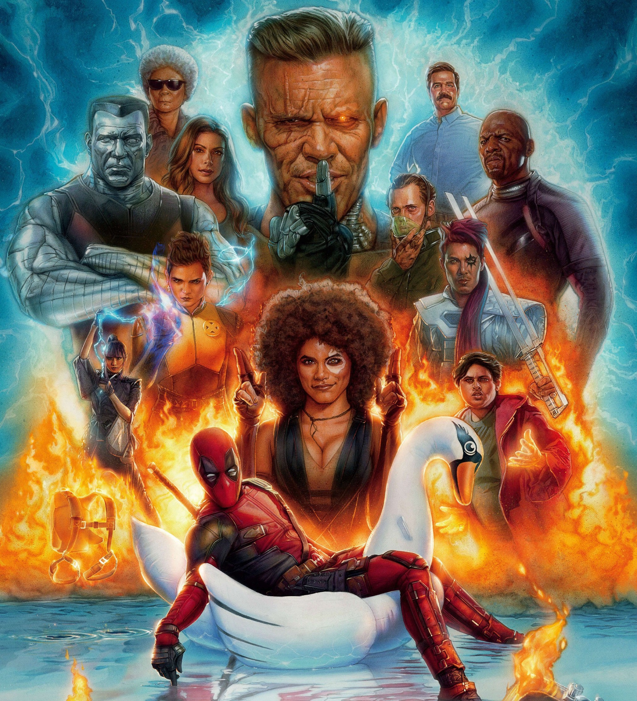 Fantastic Four Deadpool 2 Concept Art