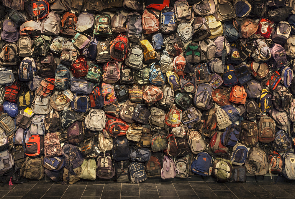 Backpack Installation, University of Michigan, 2014
