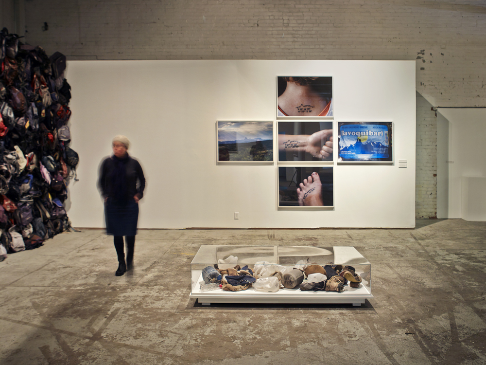 State of Exception installation view, MOCAD, Detroit, 2013
