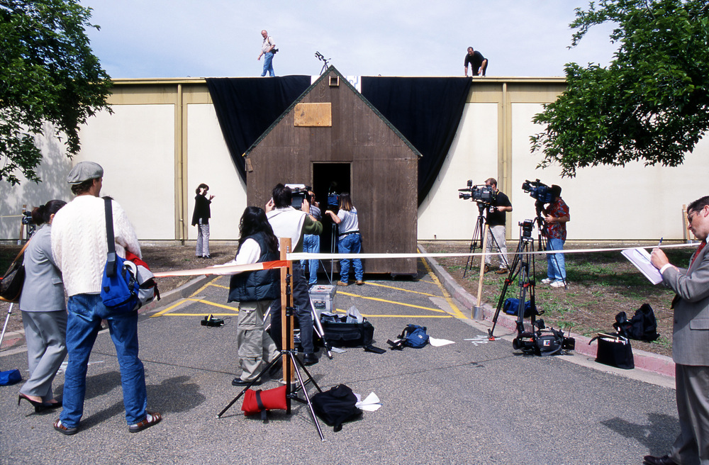 Press Conference with Cabin, 2004