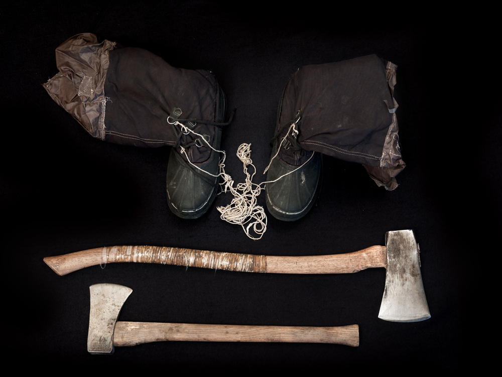 Unabomber Boots and Axes, 2015
