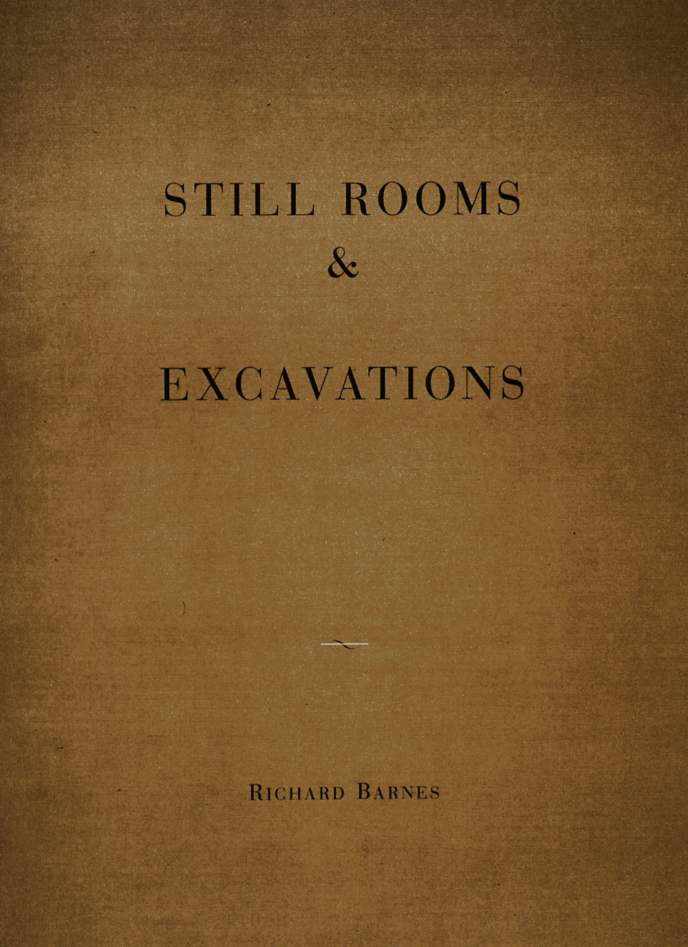 Still Rooms & Excavations, Catalogue with Essays by Richard Barnes and Douglas Nickel, 1997