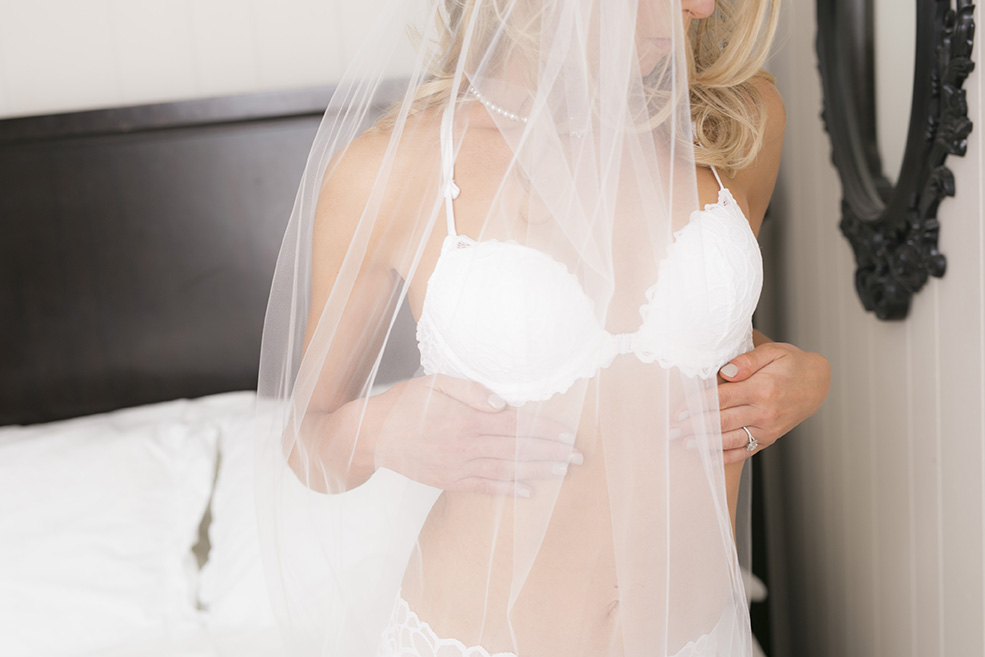 Boudoir Studio Bridal Photo