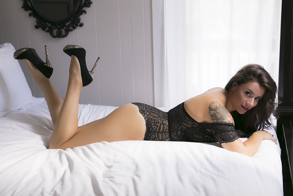 Chicago Boudoir Photographers Client Photo Shoot