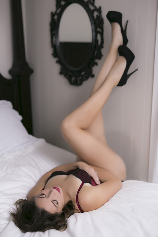 Demi Girl Boudoir Photography