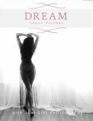 Demi Girl Photography Shoot Planner