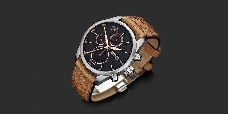 Automatisch chronograaf uurwerk 'Maya'