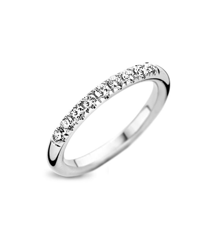Trouwring diamant